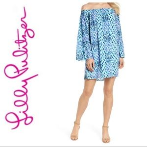 Lilly Pulitzer Nevie Off the Shoulder Dress